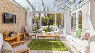 Photo for Semi-detached house with winter garden close to the beach