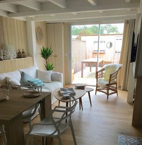 Photo for B27 - Duplex apartment with terrace center cap Ferret for 4: ultra cute!