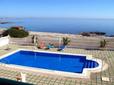 Photo for APARTMENT ON THE SHORES OF THE BEACH. EL CALON