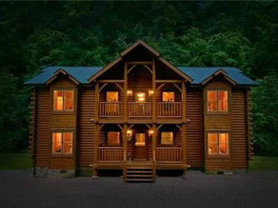 Photo for Amazing Cabin - Newly Renovated - Located between Pigeon Forge & Gatlinburg