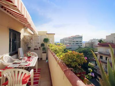 Photo for Apartment 6 people town center 200m beach sea and mountain view