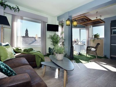 Photo for Luxury Garden Suite - Apartment for 2 people in Málaga