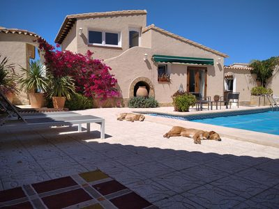 Photo for Tranquil Mountaintop 2 Bedroom Villa With Private Pool And Stunning Sea Views
