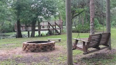Photo for Secluded Waterfront Lodge on Florida Cattle Ranch