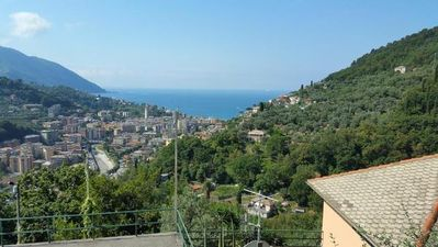 Photo for Apartment Recco for 4 - 10 people with 2 bedrooms - Apartment in a detached house