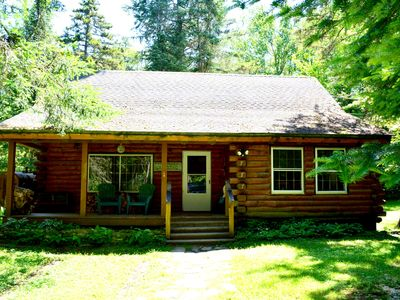 Photo for NEW! Stowe Log Cabin