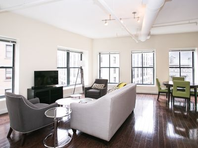 Photo for Bright 2BR in Financial District by Sonder