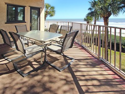 Photo for Oceanfront townhouse with shared pools, ocean views, and private balcony