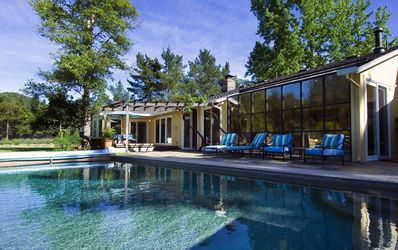 Photo for Private Sonoma Estate with Pool & Tennis, Walk to Wine Tasting