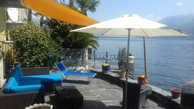 Photo for Holiday apartment Porto Ronco for 2 persons with 1 bedroom - Holiday apartment in one or multi-famil