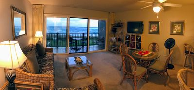 Photo for Direct Beachfront/Oceanfront Condo - 3 minute walk into Kapa'a