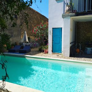 Photo for Holiday home with private pool. Magalas