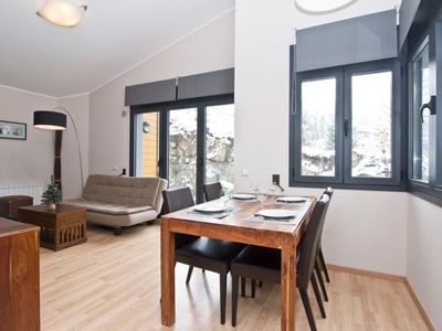 Photo for Floc 24 apartment in Canillo with WiFi, private parking, balcony & lift.