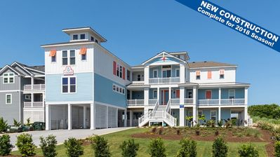 Photo for BRAND NEW 12BR OCEANFRONT Beach House features 2 REC ROOMS and PRIVATE POOL!!