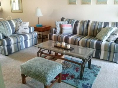 Photo for Dog Friendly, 1st Floor Condo - Walk to Restaurants, Shopping and Outlets!