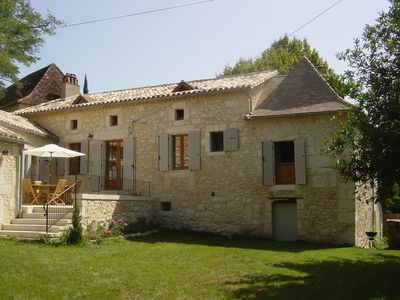 Photo for Lovely house in a green setting in Perigord Purple - ideal for children