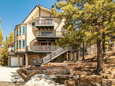 Photo for Huge Family Home w/ Ski Slope Views, Game Room, Theater Room, Private Hot Tub