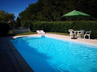 Photo for Cottage (with pool)  close to Veules les Roses on Normandy Coast