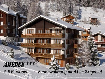 Photo for Apartment Amedee  in Saas - Fee, Valais - 2 persons, 1 bedroom