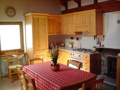 Photo for 2BR Cabin Vacation Rental in ANTAGNOD AYAS VALLE D AOSTA