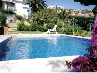 Photo for Private 1200m2 villa with garden and swimming pool