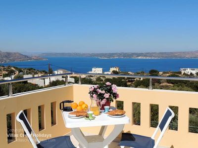 Photo for Villa Maria, Plaka, Chania.  Very private with pool, sea and mountain views.