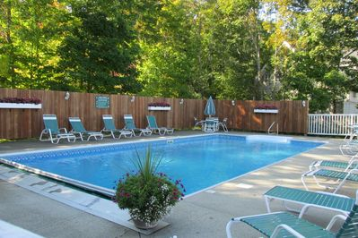 Pool available Mid June thru Mid September.