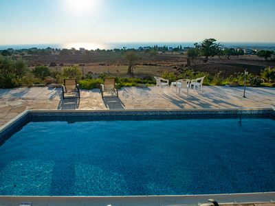 Photo for Hermes Villa (Private pool and seaview)