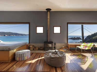 Photo for FISHCAKES - Award winning, architecturally designed home overlooking Seal Rocks
