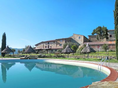 Photo for One bedroom Villa, sleeps 4 in Bagni di Petriolo with Air Con and WiFi