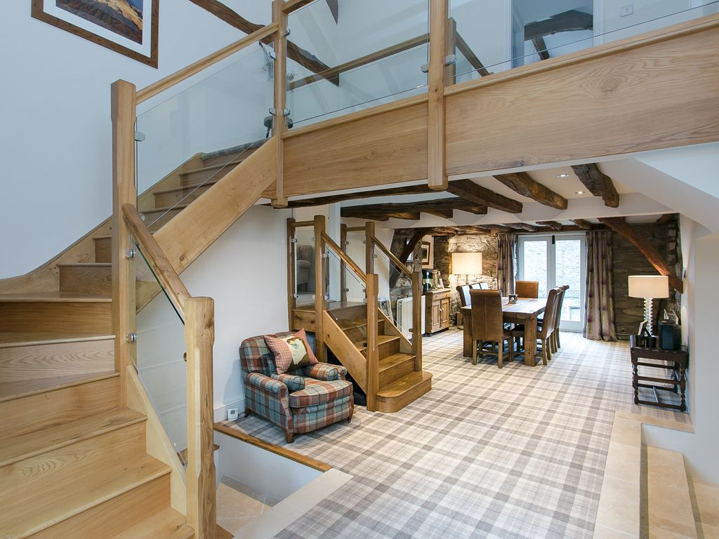 luxury 18th century barn conversion with picturesque views s