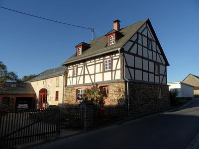 Photo for Holiday home in a listed farmhouse in the Vulkaneifel