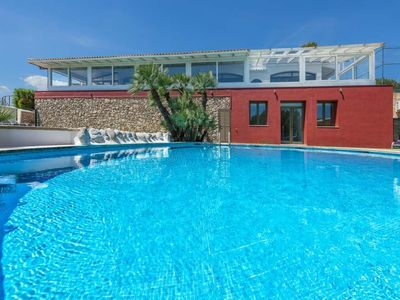 Photo for 6 bedroom Villa, sleeps 12 in Alcanada with Pool, Air Con and WiFi