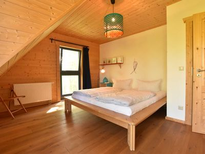 Photo for 3-room log cabin with fireplace (104 m², max 4 adults and 1 child..) - Block House buckthorn in Rerik F 650