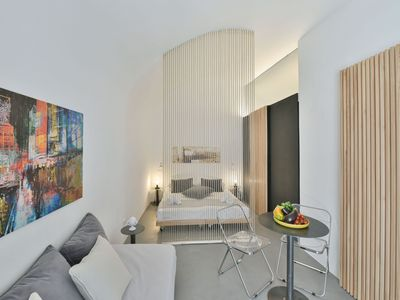 """Photo for Studio Apartment """"Voltabianca Suite"""" in Central Location with Wi-Fi; Parking Available, Pets Allowed"""