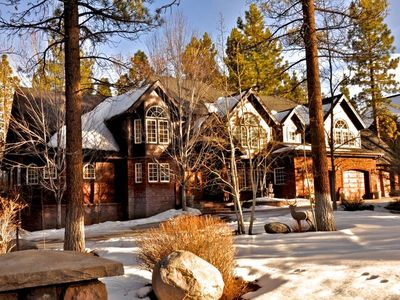Winter Time Estate: One of the most beautiful properties in all of Big Bear.