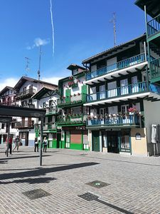 Photo for Bright 3 room apartment in the center of Hondarribia.