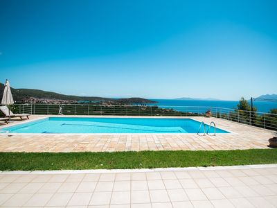 Photo for Beautiful sea view Villa Sunshine, for 6-7 guests