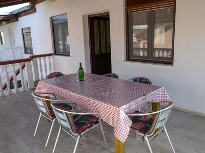 Photo for Two bedroom apartment with terrace Sabunike, Zadar (A-11837-b)