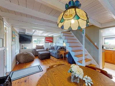 Photo for NEW LISTING! Waterfront home w/ firepit, kayaks & lovely view - dogs OK!