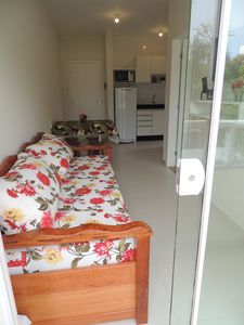 Photo for Apt of 1 bed. air cond, Wifi, 100 mts from the sea, ideal for families, English
