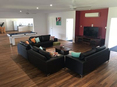 Photo for Full Tiered Movie Theatre and Pool Table just 2 hours south of Brisbane