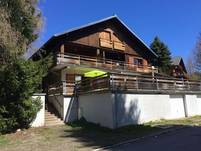 Photo for Apartment T3 in chalet - AX 3 areas - 150 m from the slopes - Large terrace