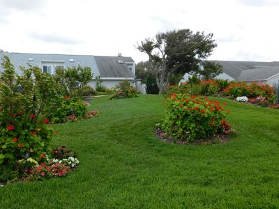 your own front yard, you will love all the flowers all  year long