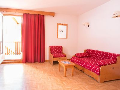 Photo for 1st floor, balcony, tv, ski locker, 60m², Puy-Saint-Vincent