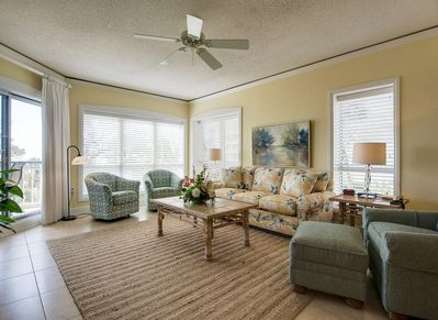 Living Room at Balcony Access at 4210 Windsor Court North