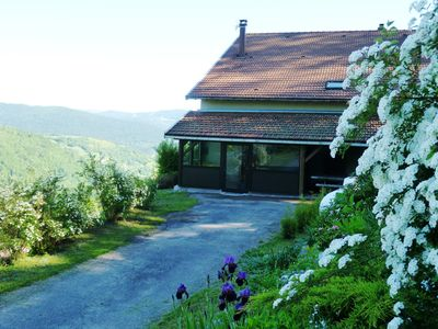 Photo for 8 pers cottage with spa, La Bresse, in the mountains near ski resort