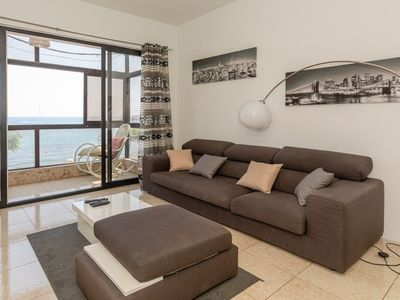 Photo for SPACIOUS THREE BEDROOMS LOCATED ON THE BEAUTIFUL SPINOLA BAY IN MALTA.
