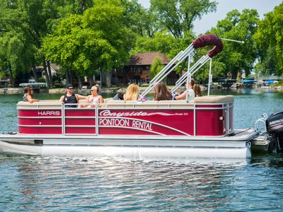 Photo for Rent a pontoon to have the complete vacation package!