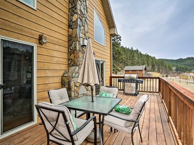 Photo for NEW! Retreat w/ Hot Tub 5 Miles to Mount Rushmore!